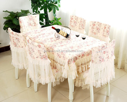 purple chair covers cheap chair covers Pastoral style table cover, chair cover