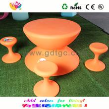 kindergarten furniture set/kids plastic table and chair/colorful children furniture