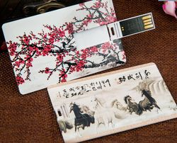 Low Cost Fashion Card Type USB Flash Drive