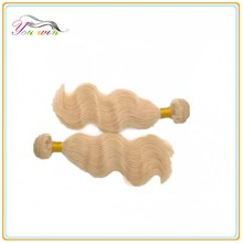 613# Blonde 100% Brazilian Virgin Remy Hair,High Quality Cheap Brazilian Body Wave Hair,100% Natural Hair Extensions