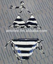 De dos piezas traje de baño bikini& conjunto para la niña