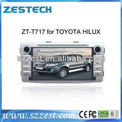 Alibaba China car parts car radio for toyota Hilux touch screen car dvd gps