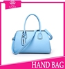 trendy beach bags 2015 fashion blue tote bags genuine ostrich leather handbags women fashion handbags from CHINA