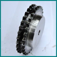 1045 steel specification roller chain sprocket wheel with bush for machinery