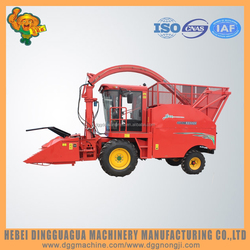 Self-propelled grass maize forage cutter harvester for animal feed