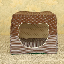 pet accessories wholesale house shape dog bed/dog bed/pet bed
