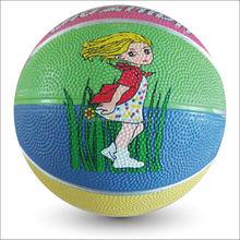 wholesale rubber cheap mini basketball 1# for kids