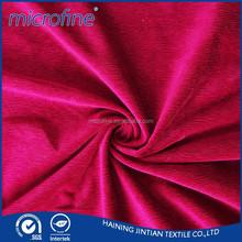 Super Soft Velvet Fabric for Sofa