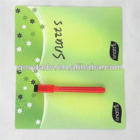 Promotional products decorations soft white board