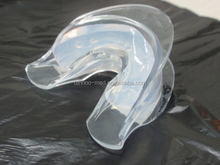 teeth whitening silicone mouth tray