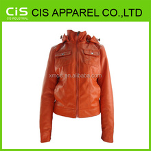 fashion motorcycle leather women jacket