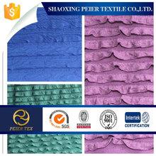 knitting jacquard fabric for ladies skirt
