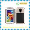 Gorilla Glass Aluminum Metal Shockproof/Waterproof phone Case for samsung galaxy s5