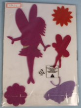 Eco-Friendly Material Flowers & Fairies Nursery Wall Stickers