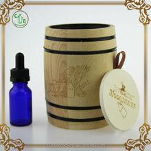 e liquids dropper bottles wooden tube packaging