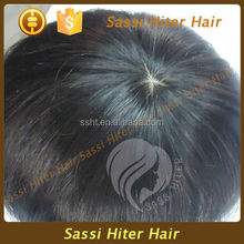 FULL FRENCH LACE SILK TOP HUMAN HAIR WIGS FOR MEN