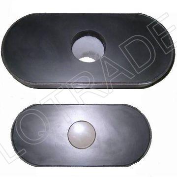 Ladle Furnace Steel Flow Control - LQ 6300 Slide Gate Plate Refractory