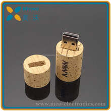 Bulk red wine lid wooden usb gift with promotional gift