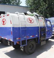 3 cbm Dump Garbage Truck/3 cbm Compactor Garbage Truck