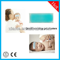 2015 The Latest Japan Technology Forehead Fever Cooling Pad, Hydrogel Cool Gel Pad