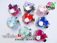 Latex Soft Vagina Condom Nice Bow-knot Package Hot Man Spike Condom Best Quality Original Thin Condom For Lover/Couple Climax