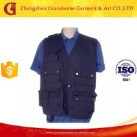 Blue Multi-pocket Fly Fishing Vest