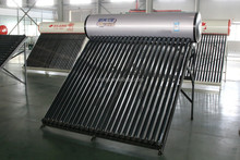 2015 new compact pressurized vacuum tube solar water heater with new silicon ring from China