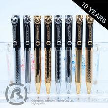 Free Samples Simple Customizable Creative Ball Metal Pen As Gift For Gentleman
