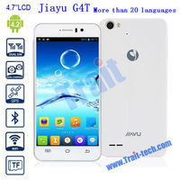 """Hot Jiayu G4T 3G Smart Phone Android 4.2 MTK6589T Quad-Core 1.5GHz 1GB 4GB 4.7"""" IPS More Than 20 Languages"""