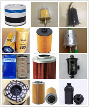 high quality types of auto/car/truck/tractor/excavator fuel filter