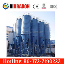 Grain silo wheat corn rice paddy sorghum storage steel silo for Ukraine