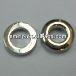 17MM plating Garment Metal brass eyelets