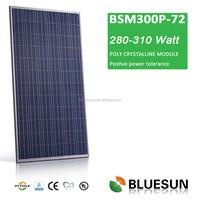 pv solar panel plus tolerance renewable energy solar power poly300W