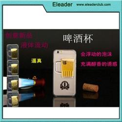 Beer bottle design case for iphone 6, hard pc case for iphone 6, for iphone 6 hard case