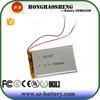 Power bank special battery 3.7v 3000mah lipo battery 605085
