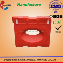 Durable one hole Water filled traffic barriers with high quality