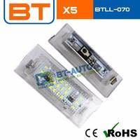 Best Price X5 E53 Car Led Licence Plate Lights