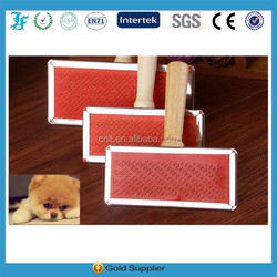 Pet Cleaning & Grooming Products wooden pet hair brush