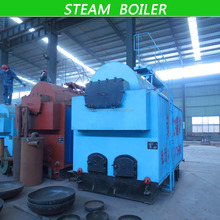 Automatic or hand control industrial 2 ton Steam Boiler for heating dry and chemical reaction