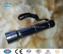 """International Brand Famouse Manufature """"Henpong"""" Factory Price Solar Torch"""