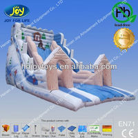 inflatable slide enchanted mountain made in China