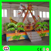 Zhengzhou Top 10 Amusement Park Rides factory mini pirate boat children playground indoor
