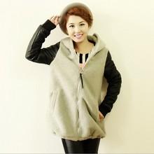 EY0090A Wool Garment leather sleeves even Wool Jacket, Winter Fashion Women Woolen Coat