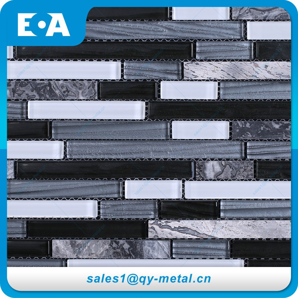 Cheap building materials swimming pool square glass stone for Cheap construction materials