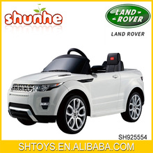Two Function Remote Control And B/O Kids Ride On Car Remote Control Power Car Licensed Land Rover Evoque Ride-On Car
