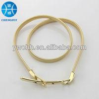 Fashion gold waist chain belt nice design for dress