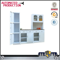 kitchen cabinets for sale/ water resistant kitchen cabinet/ white metal kitchen cabinets