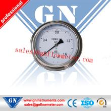 SS304 bourdon tube pressure gauge