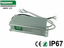 100W waterproof led power supply