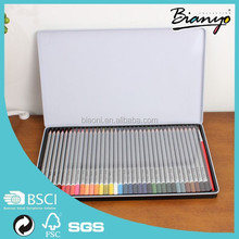 Most Popular High Quality Professional Natural Wood Drawing Color Pencil Set For Artists Wholesale